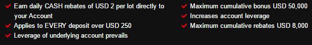 100% HotForex bonus