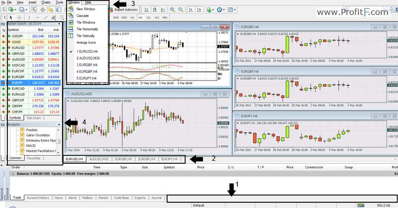 How to read binary options chart