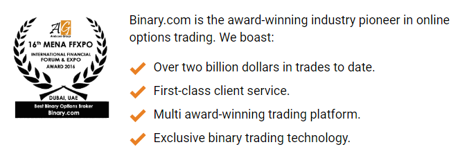 Binary.com awards