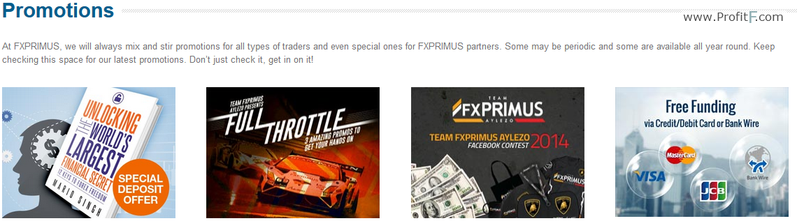 Fxprimus Forex Broker Review Info Minimum Deposit