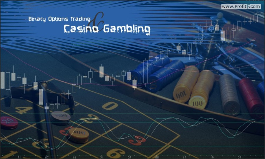 Binary options just gambling