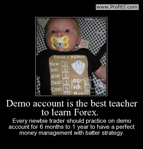 Forex demo vs live account