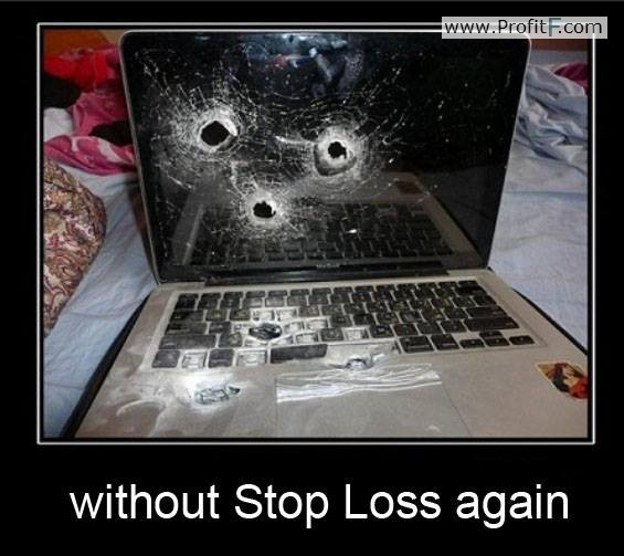 Forex humor don't trade without stoploss