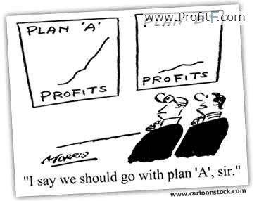Forex humor- Plan A and B