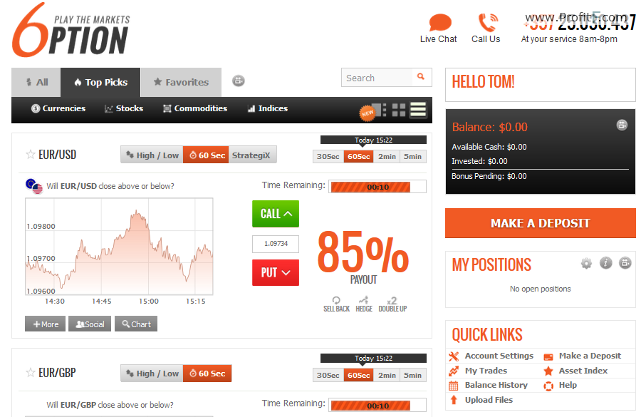 Uk forex broker rating