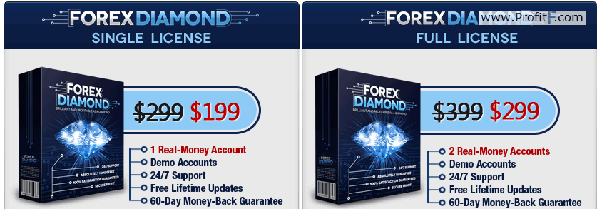 forex diamond full licenze