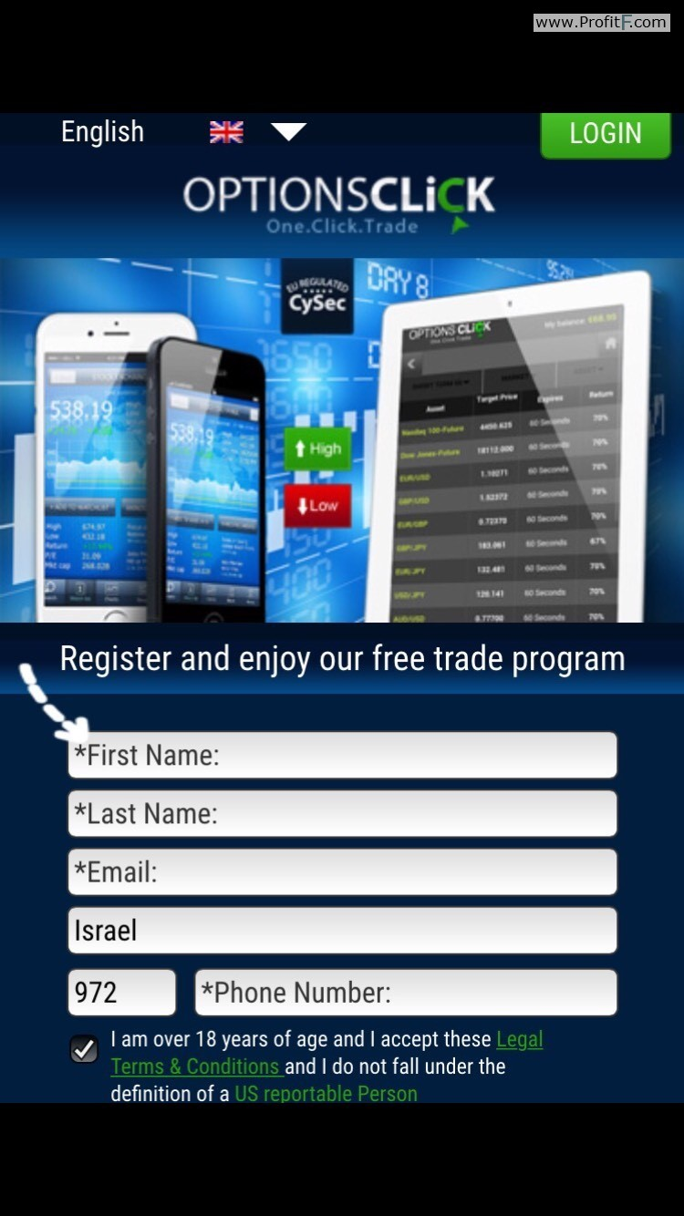 Binary options trading click click profit