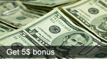 FBS $5 No-Deposit Welcome bonus