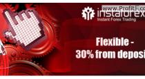 InstaForex 30% deposit bonus