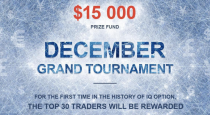 IQ Option launches several tournaments in December