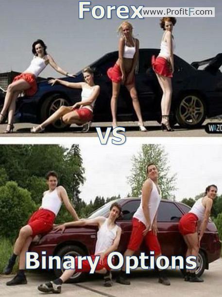 Binary options vs poker