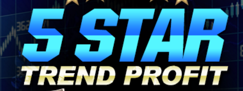 5 star trend profit logo