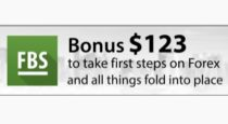 FBS $123 No deposit Bonus