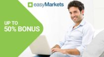 EasyMarkets – 50% First Deposit Bonus