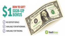 1 USD or 1 EUR No Deposit Bonus – FreshForex