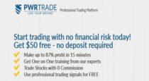 $50 No Deposit Bonus – PWRTRADE