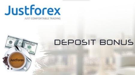 100% Deposit Bonus JustForex