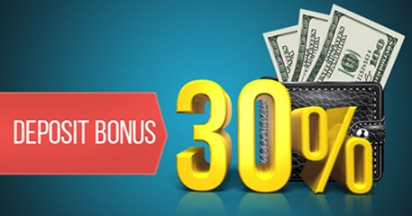 30% Deposits Bonus – Forex Optimum