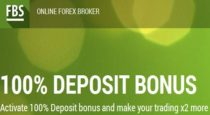 100% Deposit Bonus – FBS