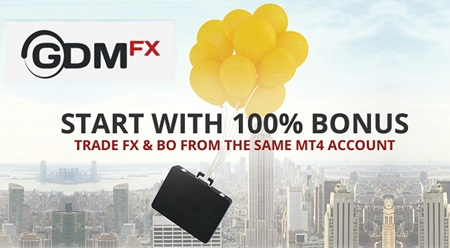 100% Forex and Binary Bonus - GDMFX